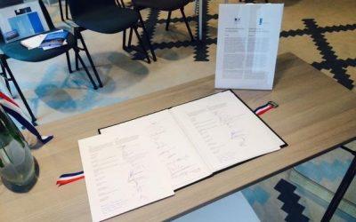 INOV360 signataire de la déclaration d'intention 'Smart Cities' entre la France et les Pays-Bas