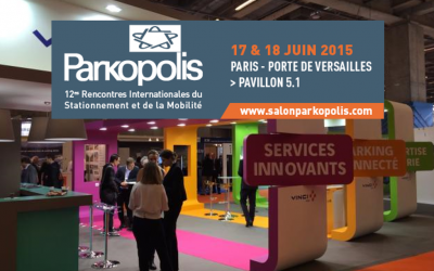 Parkopolis, the 12th international exhibition dedicated to the parking sector and mobility – Paris
