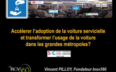 V. Pilloy et G. Macaigne speakers au SMART COUNTRIES & CITIES CONGRESS 2015 à Paris