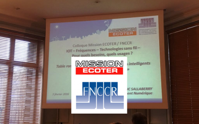 Guillaume Macaigne, speaker at the IoT congress organized by Mission Ecoter and FNCCR