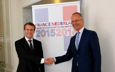 V. Pilloy and G. Macaigne, invited at the State Diner and the Franco-Dutch economic program