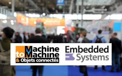 Salons Machine to Machine et Embedded Systems, les 23 & 24 mars 2016
