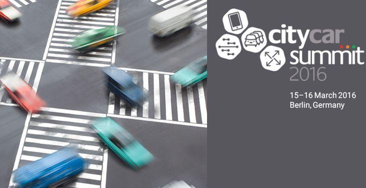 V. Pilloy et D. Michelin-Mazéran, participeront à la conférence CityCarSummit 2016, à Berlin