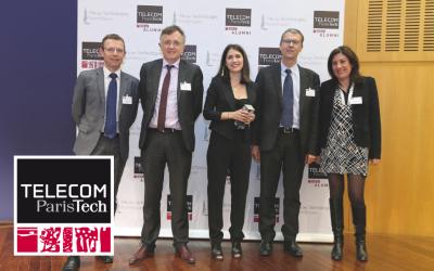 V. Pilloy, membre du jury du Prix des Technologies Numériques 2016