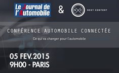 Connected Car Conference, what will change for the automotive market – Paris – February 5th, 2015