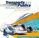 Transports Publics 2014, le grand rendez-vous des acteurs européens de la mobilité durable, du 10 au 12 Juin 2014 à Paris