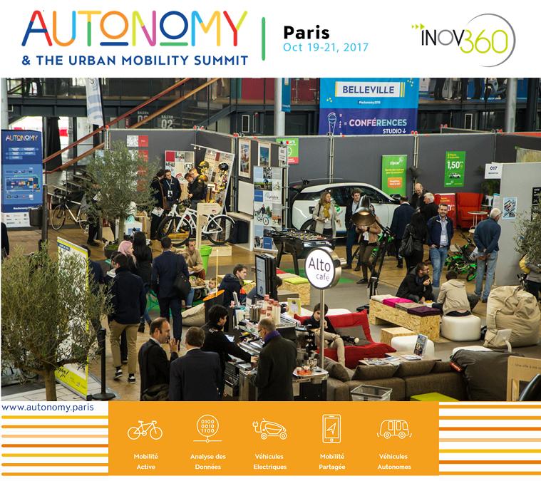 Inov360 partenaire du salon Autonomy, à Paris, les 19 et 20 octobre