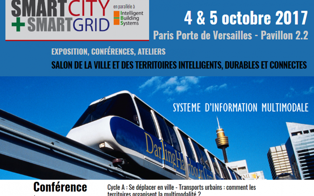 Inov360 speaker au salon smartcity smartgrid le 4 octobre for Porte de versailles salon du running